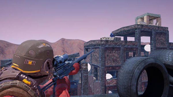The Battlefield / Counter-Strike en VR